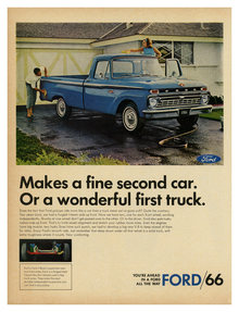 Ford ads (mid-1960s)