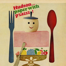 """Hudson… paper with p'zazzz!"" ads (1966)"