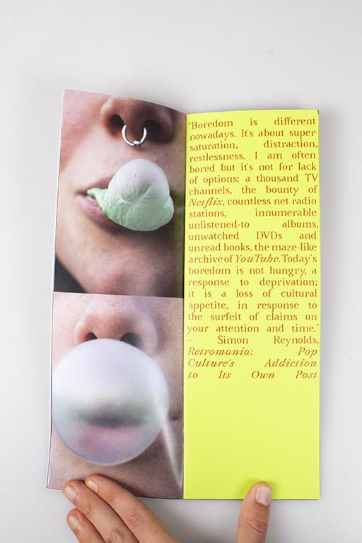 Bubblegum photozine 1
