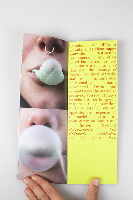 Bubblegum photozine 1