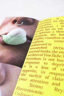 <cite>Bubblegum</cite> photozine