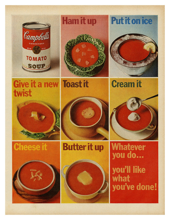 Campbell's Tomato Soup ad (1965)