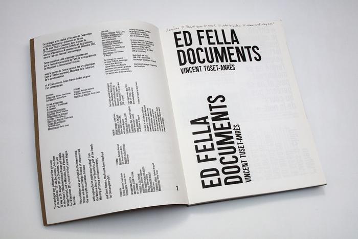 Ed Fella, Documents 3