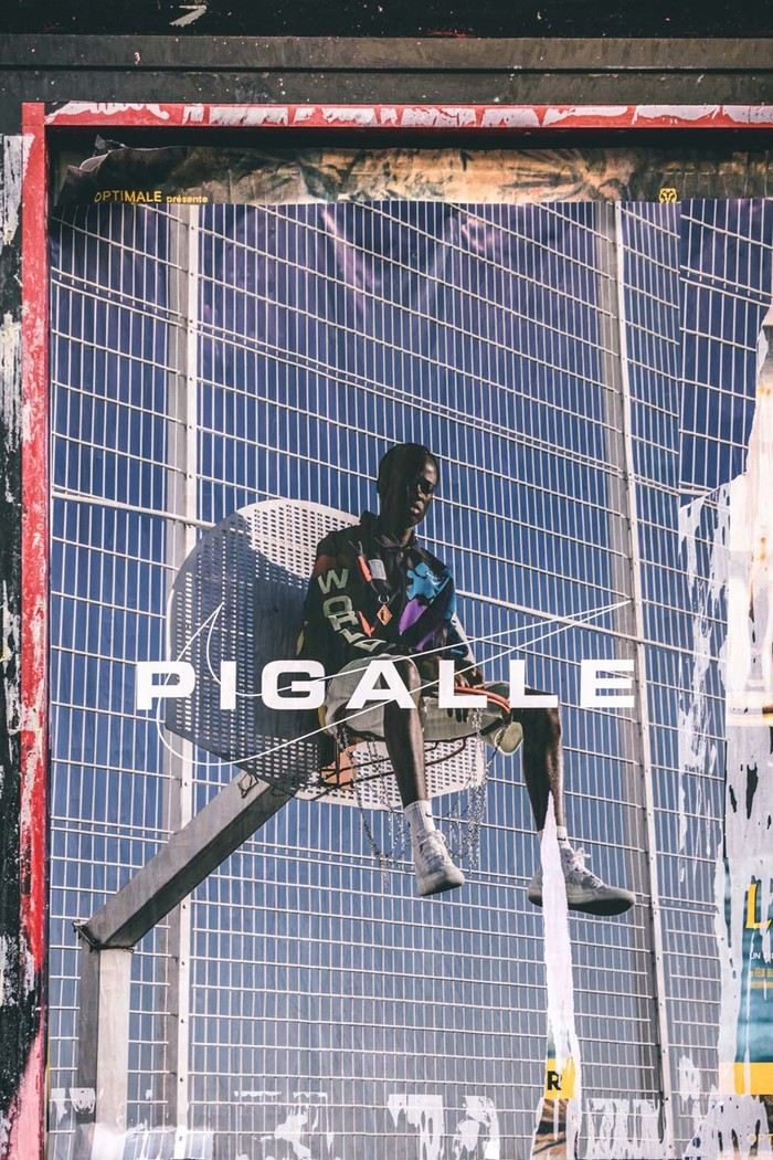 Pigalle x Nike clothing & basketball courts 1