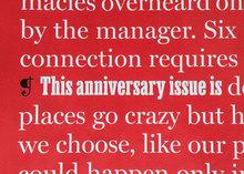 <cite>New York</cite> magazine 50th anniversary issue