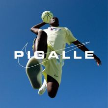 Pigalle x Nike clothing & basketball courts