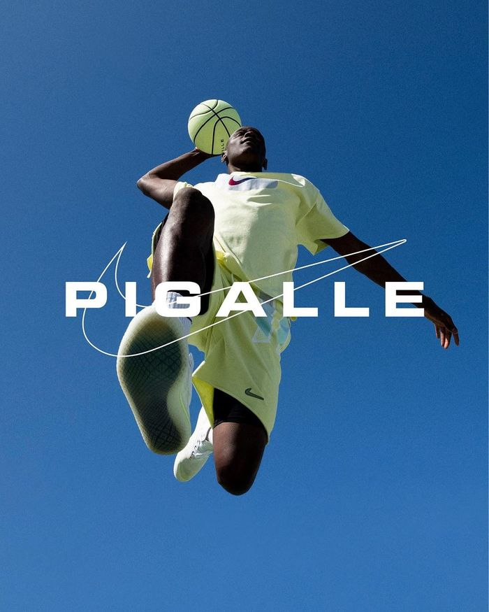 Pigalle x Nike clothing & basketball courts 5
