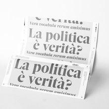 <cite>La politica è verità?</cite>