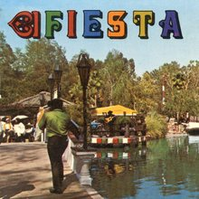 Fiesta Village, Knott's Berry Farm postcard