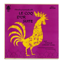 <cite>Rimsky-Korsakoff: Le Coq D'Or Suite And Popular Concert Music </cite>album art