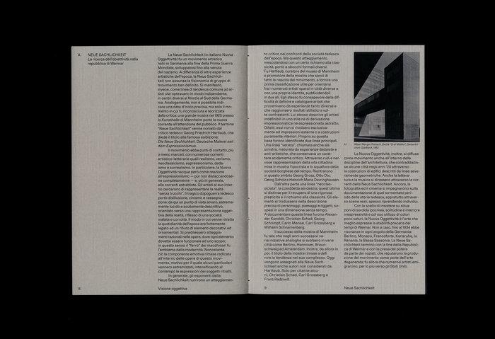 Visione Oggettiva. L'oggetto della raffigurazione tra la Neue Sachlichkeit e la Scuola di Düsseldorf 5