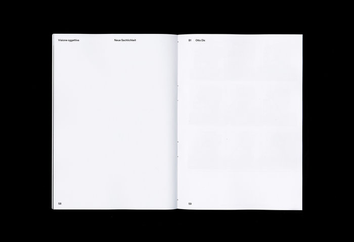 Visione Oggettiva. L'oggetto della raffigurazione tra la Neue Sachlichkeit e la Scuola di Düsseldorf 8