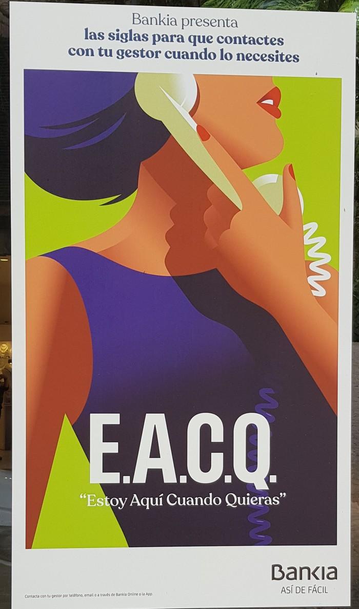 Bankia presenta: E.A.C.Q. poster