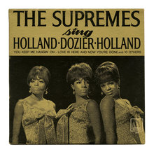 <cite>The Supremes ‎Sing Holland · Dozier · Holland </cite>