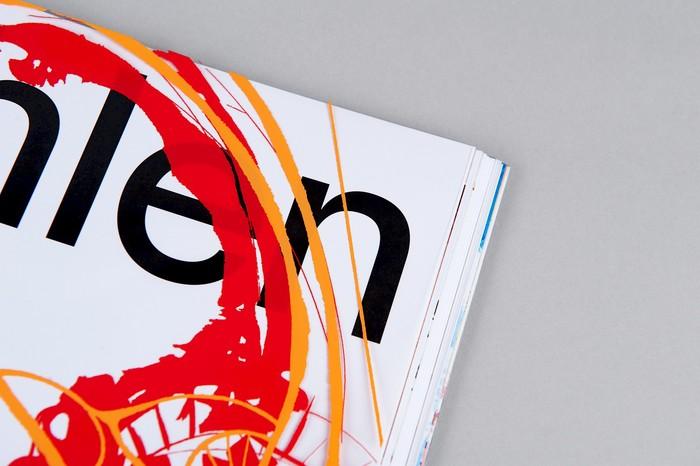 Albert Oehlen exhibition catalogue 3