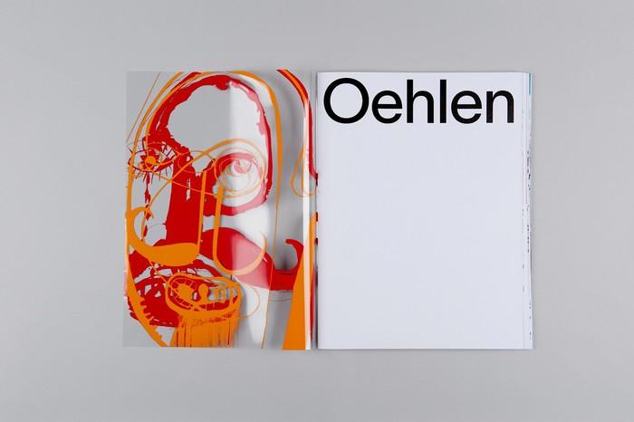 Albert Oehlen exhibition catalogue 4