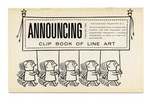 <cite>Clip Books of Line Art</cite>, Volk (1960)