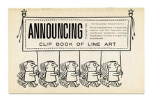 <cite>Clip Books of Line Art</cite>, Volk (1960)