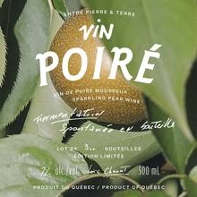 """Entre Pierre & Terre"" orchard ciders"