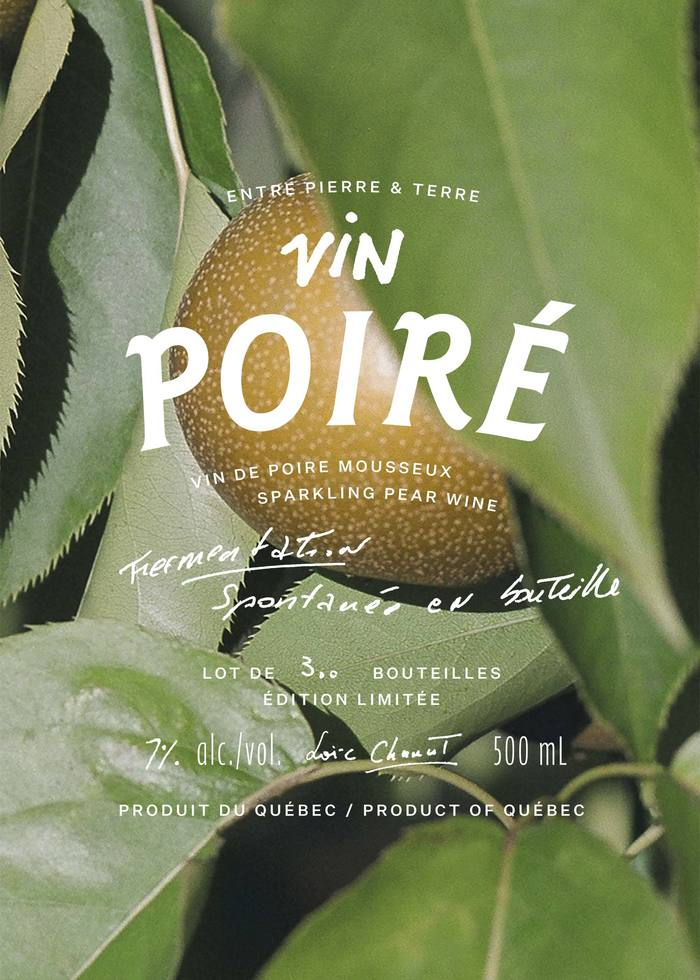 """Entre Pierre & Terre"" orchard ciders 1"