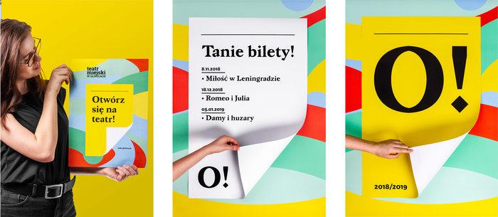 Otwórz się na teatr! – Teatr Miejski w Gliwicach identity 9