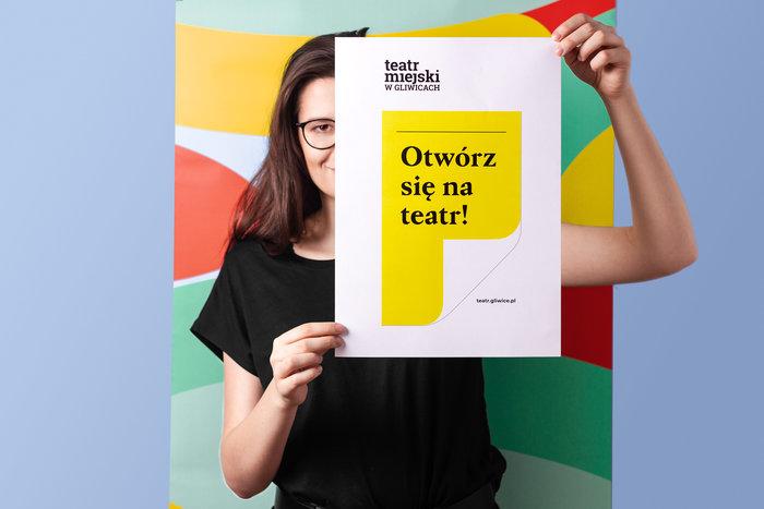 Otwórz się na teatr! – Teatr Miejski w Gliwicach identity 8