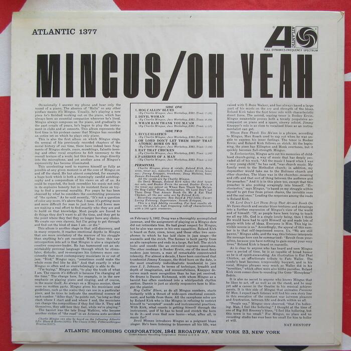 Mingus – Oh Yeah 4