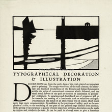 <cite>Typographical Decoration &amp; Illustration</cite> / <cite>A Good Footing</cite>, Cloister Press