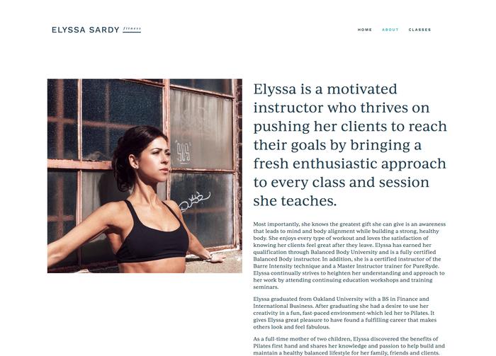 Elyssa Sardy Fitness 3