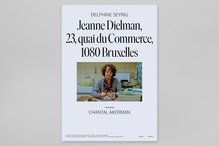 <cite>Jeanne Dielman, 23, Quai du Commerce, 1080 Bruxelles,</cite> Swedish movie posters