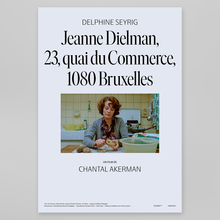 <cite>Jeanne Dielman, 23, Quai du Commerce, 1080 Bruxelles</cite> movie posters for <span>NonStop Entertainment</span>