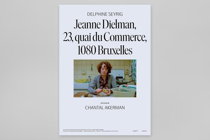 Jeanne Dielman, 23, Quai du Commerce, 1080 Bruxelles movie posters for NonStop Entertainment 1