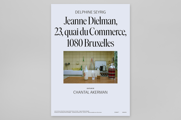 Jeanne Dielman, 23, Quai du Commerce, 1080 Bruxelles, Swedish movie posters 2