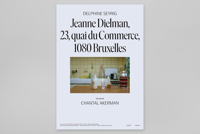 Jeanne Dielman, 23, Quai du Commerce, 1080 Bruxelles movie posters for NonStop Entertainment 2