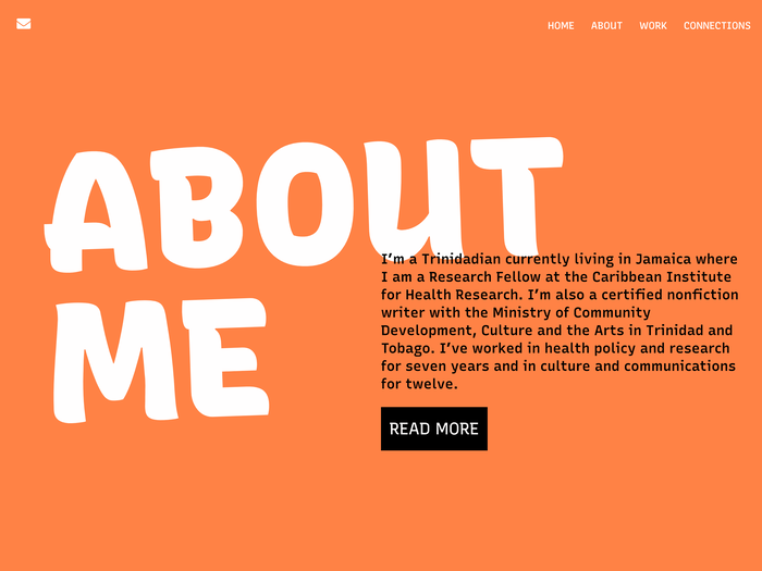 A vibrant color palette and subtle rotations on big headlines strike and energetic and inviting tone throughout the site. All-caps headlines use Recursive's Casual styles (CASL=1) to be bold without being shouty, while Linear styles (CASL=0) provide supporting text that is matter-of-fact without being plain.