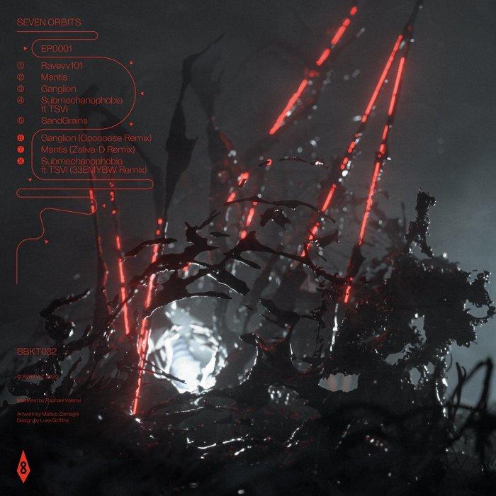 Seven Orbits – EP0001 album art 1