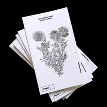"<cite>About the Blumenbuch, </cite><span>Poem Pamphlet No.<span class=""nbsp""><span class=""nbsp""> 1</span></span></span>"