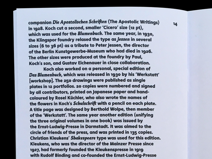 Typeset in Instant Heavy and Almost Italic (unreleased).