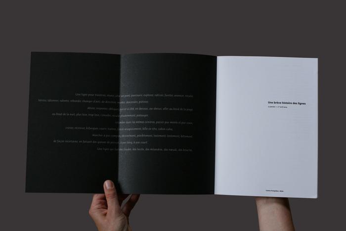 Une bréve histoire des lignes exhibition catalog 3