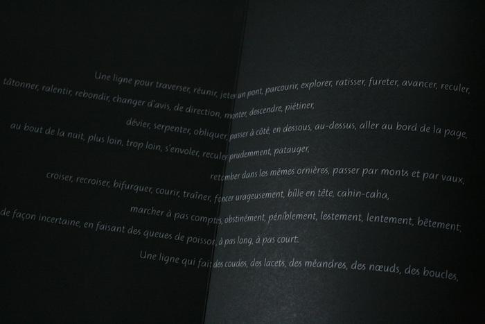 Une bréve histoire des lignes exhibition catalog 4
