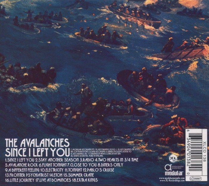 Back cover of the album.