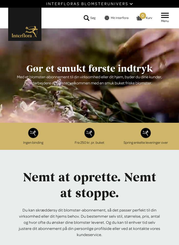 Interflora Denmark 1