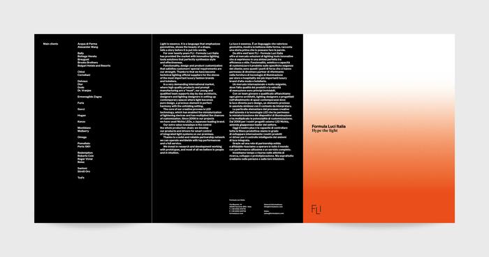 """""""Hype the light"""" – Formula Luci Italia booklet 7"""