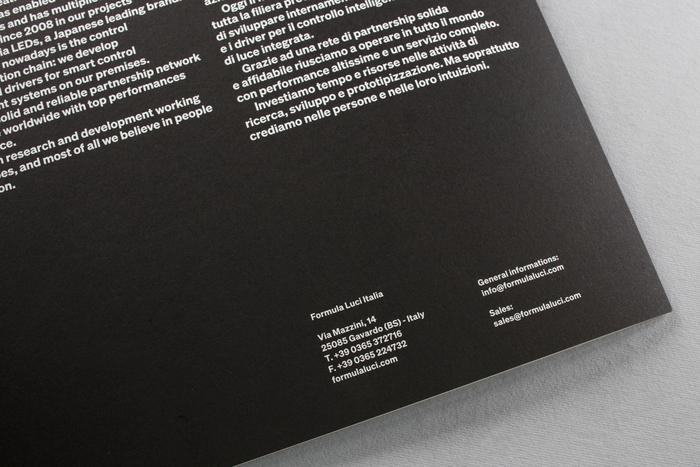 """""""Hype the light"""" – Formula Luci Italia booklet 2"""