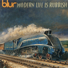 Blur – <cite>Modern Life Is Rubbish</cite> album art