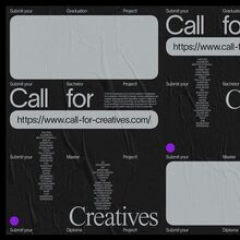 Call for Creatives