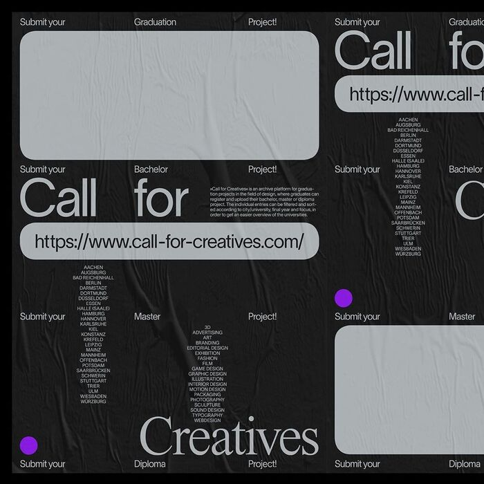 Call for Creatives 2