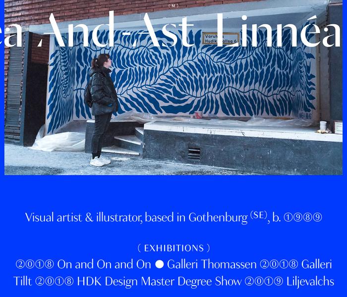 Linnéa And-Ast website 1