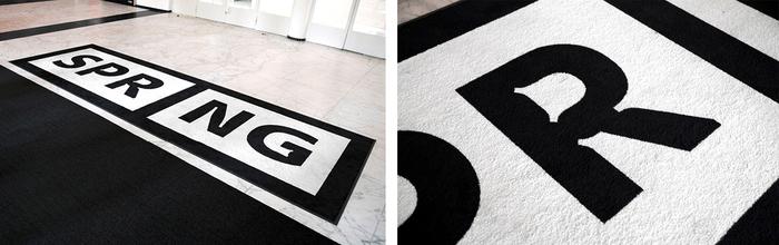 Floor mats.