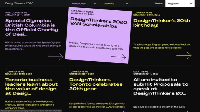 DesignThinkers 2020 2